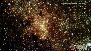 اولین فیلم از یک سیاهچاله پنهان در مرکز کهکشان راه شیری