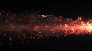 پروژه آماده افتر افکت نمایش لوگو با سبک رقص آتش