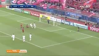 خلاصه فینال لیگ قهرمانان آسیا: کاشیما ۲-۰ پرسپولیس