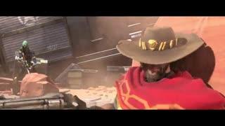 انیمیشنی کوتاه از بازی Overwatch با محوریت شخصیت McCree