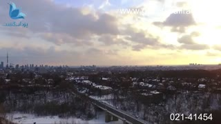 تورنتو در فصل زمستان