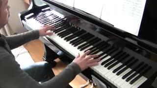 پیانو ی اهنگ رقص گل ها (خیلیییییییییییییییییییییییییییییییییییییی قشنگههههههههههههههههههه)