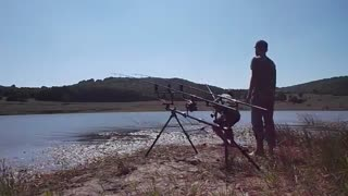 فیلم اموزش کامل ماهیگیری کپور با لنسر