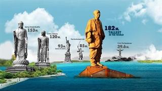 رونمایی از بزرگترین مجسمه جهان در هند