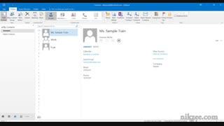 آموزش نرم افزار ۲۰۱۶ Outlook