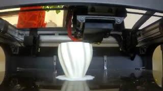 کلیپ تایم لپس چاپگر سه بعدی