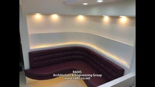 طراحی داخلی و اجرا مطب دندانپزشکی دکتر مولایی