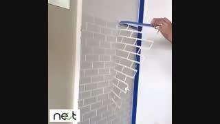 یک راه کار عالی برای تغییر روی دیوار ساده استفاده از شابلن در نما دیوار است https:  goo.gl 6gr9Gq