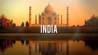 زیبایی های هند از دید پهپاد