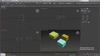 آموزش مدل سازی صحنه داخلی در 3ds Max