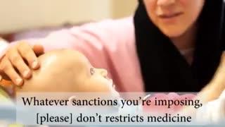 فیلم هنرمندان ایران علیه تحریم ها