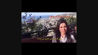آن ماری سلامی بازیگر نقش ساره در سریال حوالی پاییز