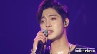 اجرای زیبا اهنگ wait for me هیون تو کنسرت اخر makuhari