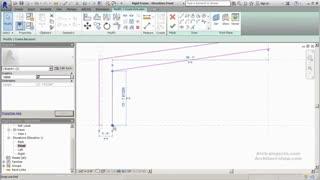 آموزش طراحی فریم سفارشی برای سازه های صنعتی در Revit