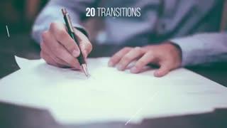 مجموعه 20 ترانزیشن های آماده با سبک خط کشی برای پریمیر پرو