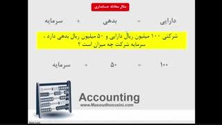 اموزش تصویری حسابداری مالی - شرکت های خدماتی