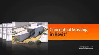 آموزش مدل سازی مفهومی Massing یک ساختمان در Revit
