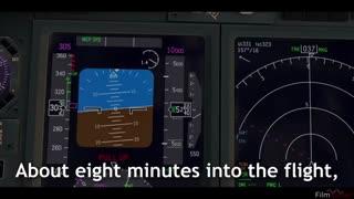بازسازی چگونگی سقوط هواپیمای اندونزی