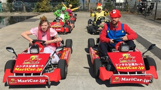 بازی Mario Kart در دنیای واقعی