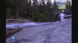 آبشارهای شگفتانگیز  در کالیفرنیا