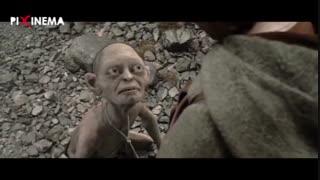 فیلم ارباب حلقهها - دو برج : سکانس آشنایی با شخصیت گالوم و تعقیب فرودو توسط او