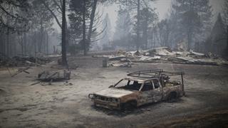تصاویر آخرالزمانی از کالیفرنیا بعد از آتش سوزی