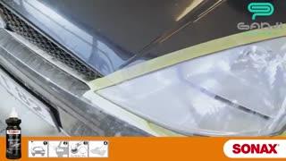 آموزش روش صحیح از بین بردن ماتی-خط و خش های سطح چراغ خودرو-گنجی پخش
