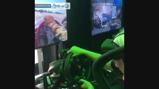 لذت رانندگی مهیج در واقعیت مجازی