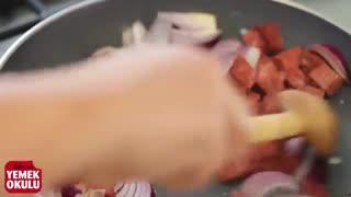 Carl's Jr. Cheddar Fries (Challenge) Meydan Okuması   Sucuklu, Doyurucu Patates Kızartması Tarifi