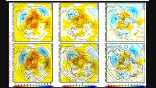 پیش بینی فصلی (دسامبر - فوریه 2019/18) مدل آب و هوای توکیو TCC