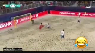 پدیده گزارشگری فوتبال عباس قانع!!!