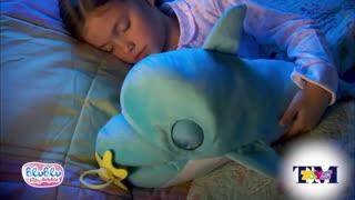 عروسک دلفین صدادار و حرکتی بزرگ 7031