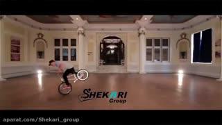 حرکات نمایشی با دوچرخه