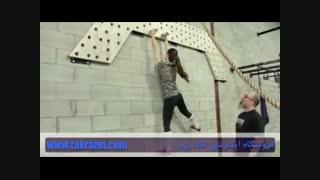 ویدئو تمرین با تخته صعود