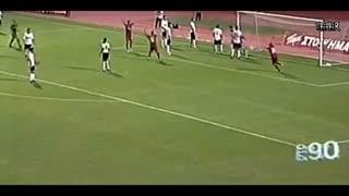 15 گل شانسی در فوتبال-فلزیاب در فارس-09917579020