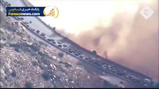 کشته های آتش سوزی کالیفرنیا به 44 نفر رسید