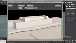 تکنیک های مدل سازی سریع ایده های معماری در 3dsMax
