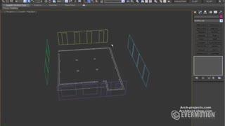 آموزش طراحی داخلی در 3dmax