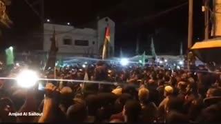 شادی اهالی غزه از سیلی محکم مقاومت