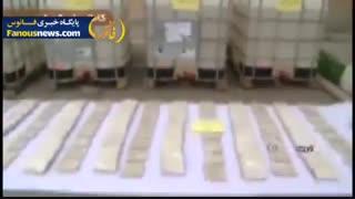 کشف 6 تن ماده پیش ساز هروئین توسط وزارت اطلاعات