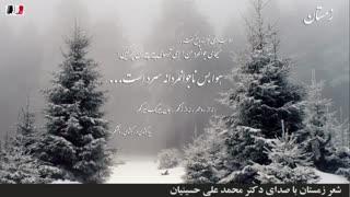 دکلمه شعر زمستان (با صدای دکتر محمد علی حسینیان)