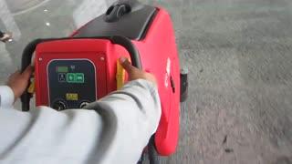 اسکرابر صنعتی- کنترل پنل ساده