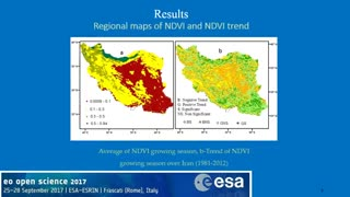 ID145 Trend analysis of vegetation index in different land use land cover Case study Iran