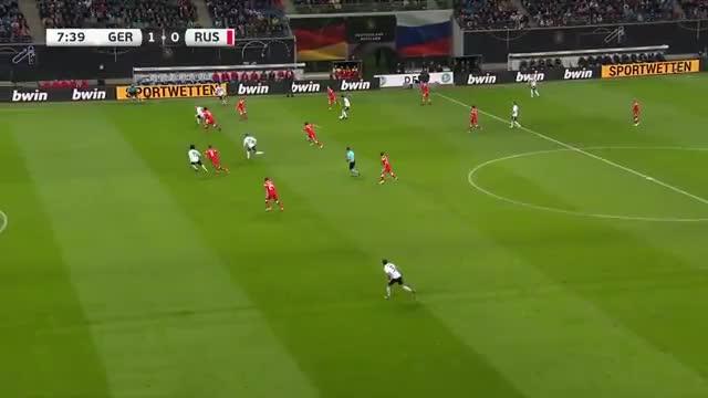 خلاصه بازی آلمان 3_0 روسیه (بازی دوستانه ملی)