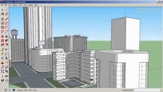 آموزش طراحی و مدل سازی یک شهر در اسکچاپ و پست پروداکشن در فتوشاپ