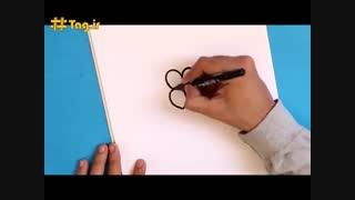 """نقاشی با اعداد؛ آموزش کشیدن """"دسته بادکنک ها"""" با عدد انگلیسی """"۳۳"""""""