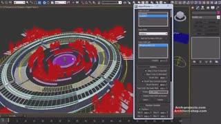 آموزش پست پروداکشن صحنه هوایی در فتوشاپ و 3ds Max