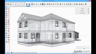 آموزش اصول نرم افزار SketchUp برای معماری