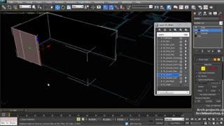 آموزش مدل سازی نمای بیرونی ویلا با 3ds Max and VRay