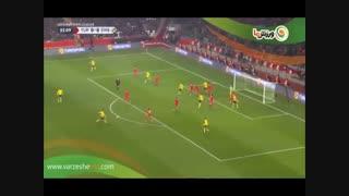 خلاصه بازی ترکیه 0 - سوئد 1 (26-8-1397)